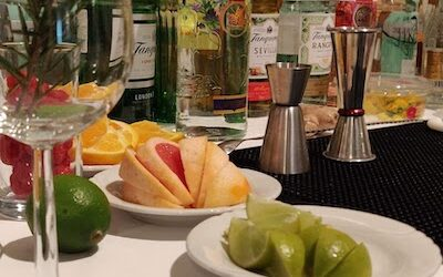 HIwine Gin Tonic workshop